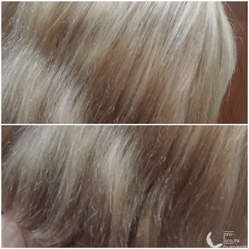 Сыворотка для волос VALMONA Ultimate Hair Oil Serum Amber Vanilla фото до и после