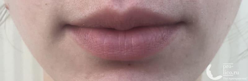 Губная помада Maybelline Color Sensational фото до нанесения