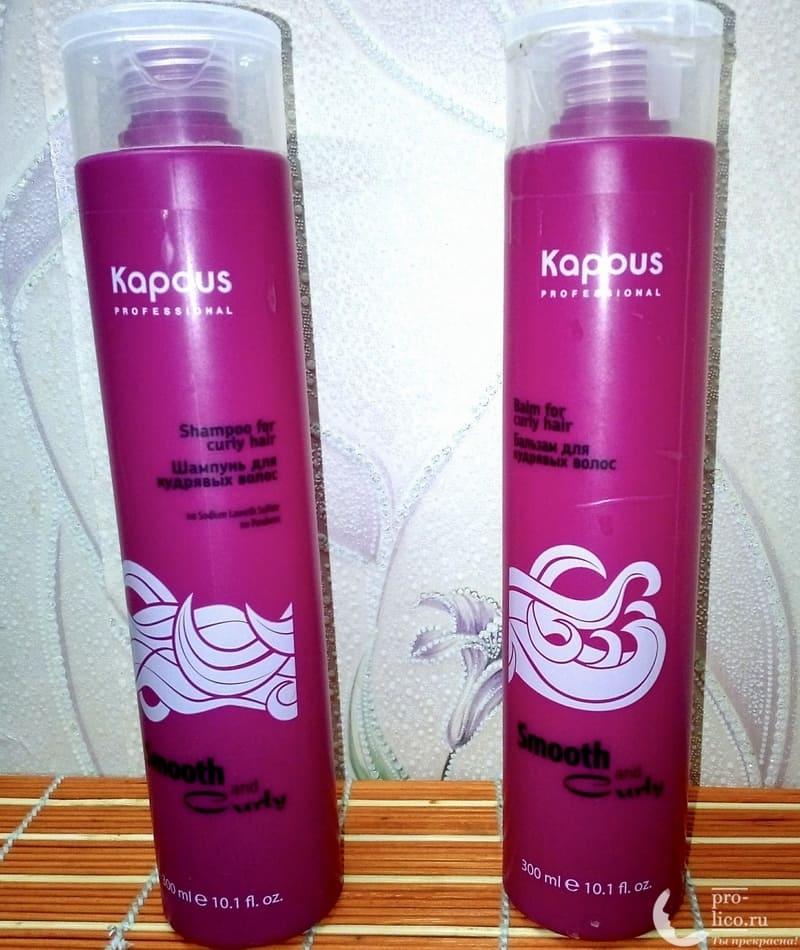 "Kapous Professional ""Шампунь для кудрявых волос Smooth and Curly"""