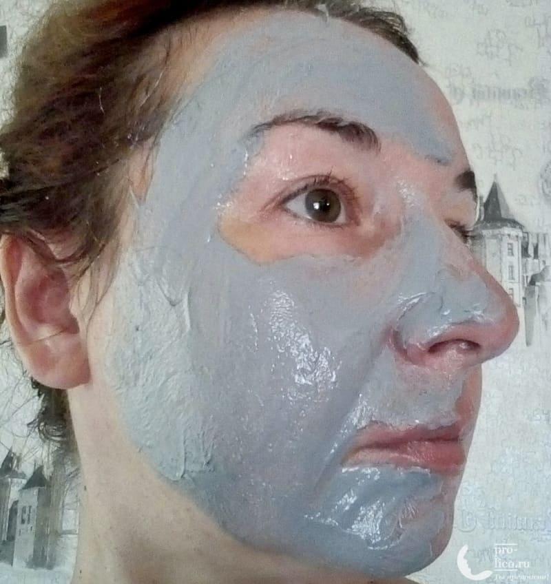 """Косметическое средство 5 в 1 """"Чистая Линия"""" Идеальная кожа Гель+скраб+маска с углем и эвкалиптом"""
