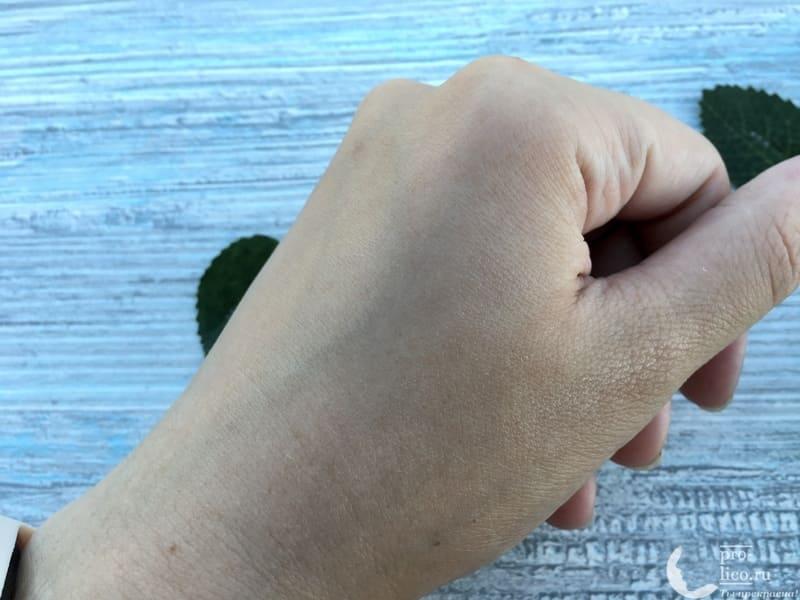 Крем для лица Чистая линия Аква-крем Мгновенная матовость Идеальная кожа консистенция впитался