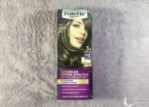 Крем-краска для волос Palette Intensive Color Интенсивный цвет «Холодный Средне-Русый» — мой отзыв, плюсы и минусы
