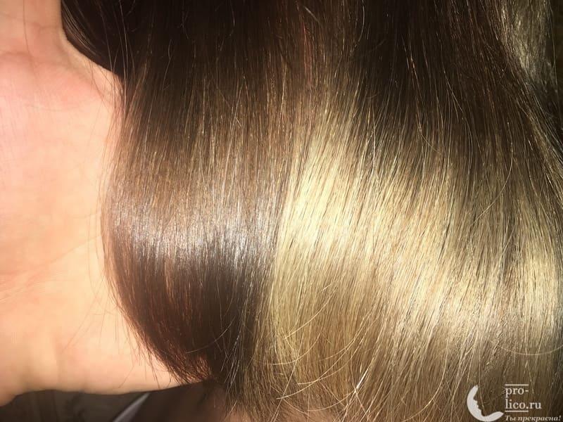 Крем-краска для волос Palette Intensive Color Интенсивный цвет «Холодный Средне-Русый» результат