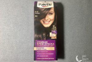 Крем-краска для волос Palette Intensive Color Интенсивный цвет «Каштановый» — мой отзыв, плюсы и минусы