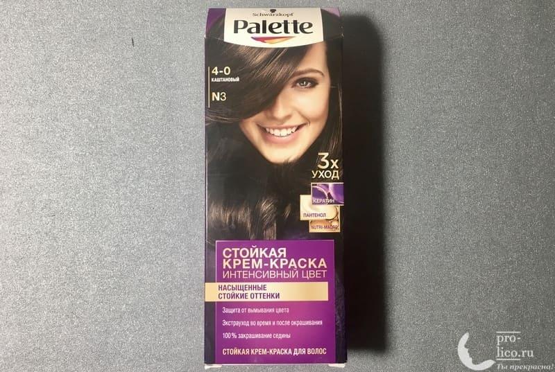Крем-краска для волос Palette Intensive Color Интенсивный цвет «Каштановый»