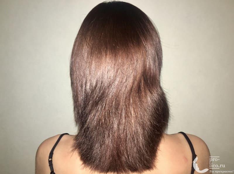 Крем-краска для волос Palette Intensive Color Интенсивный цвет «Каштановый» окрашивание результат
