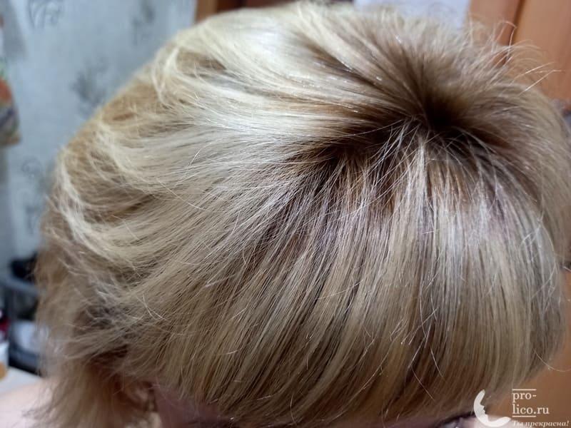 Лак для волос LAF professional фото после применения
