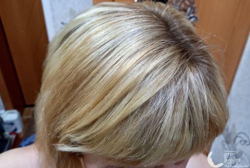 Лак для волос LAF professional фото до применения