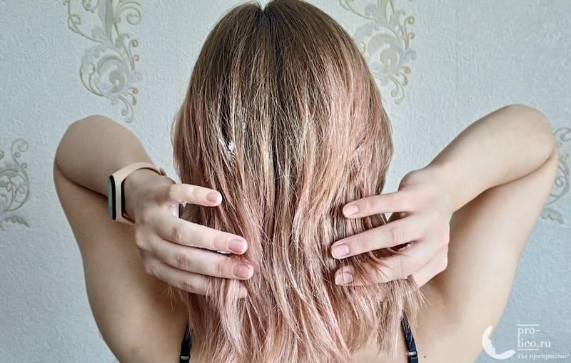 Маска для волос Garnier Botanic Therapy 3 в 1 Кокосовое молоко и Макадамия до и после
