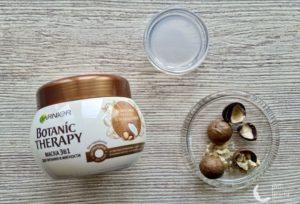 Маска для волос Garnier Botanic Therapy 3 в 1 «Кокосовое молоко и Макадамия» — мой отзыв, разбор состава, плюсы и минусы