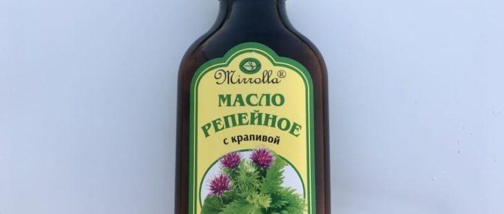 Масло репейное для волос Мирролла с крапивой