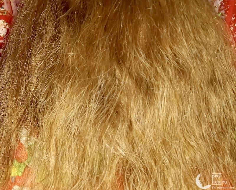 шампунь-активатор роста волос Estel Otium Unique фото до и после