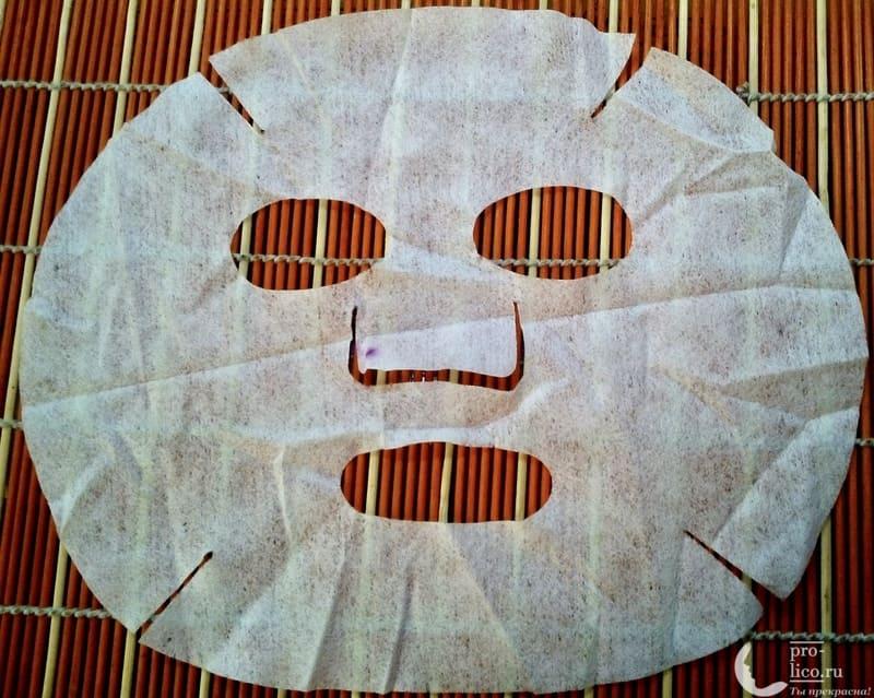 тканевая маска для лица IMAGES. Питательная, с экстрактом водорослей лекало