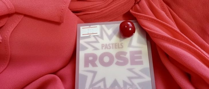 Палетка теней для век Farres Pastels ROSE