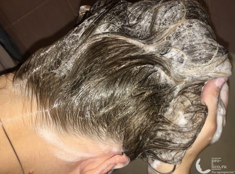 Шампунь Мирролла Репейный для укрепления волос с витаминами