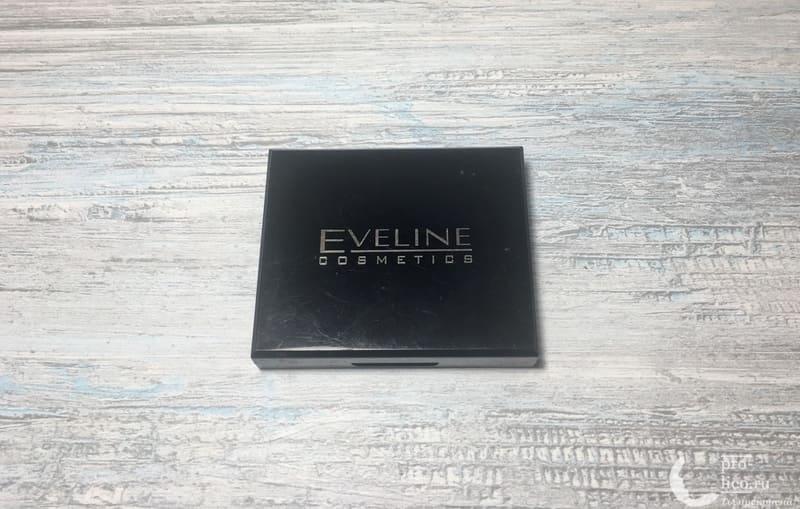 Бархатистая компактная пудра Eveline