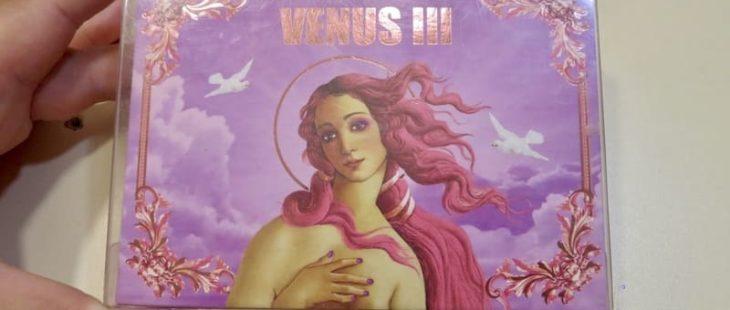 Палетка теней Lime Crime Venus 3