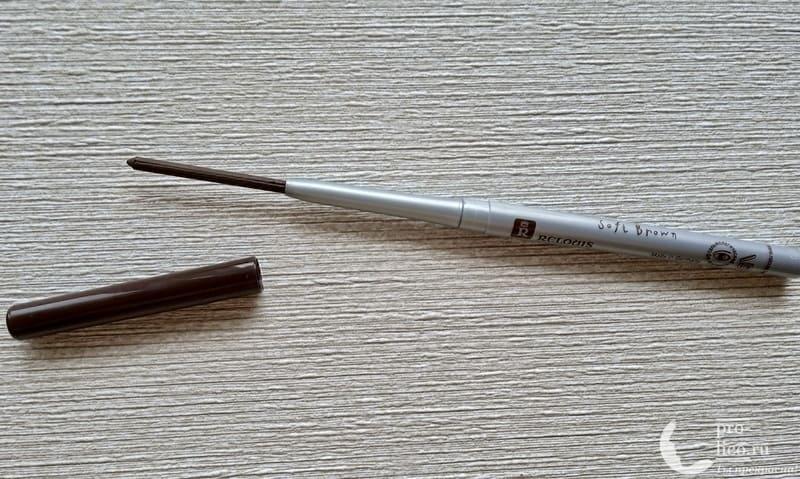 Карандаш для бровей Relouis / Релуи Пудровый механический Brow Wow
