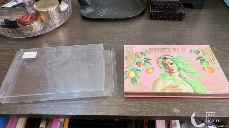 Большая палетка теней Lime Crime Venus XL