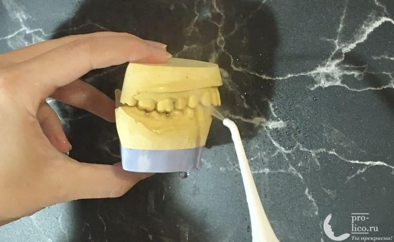 Ирригатор B.Well WI-911 чистка зубов