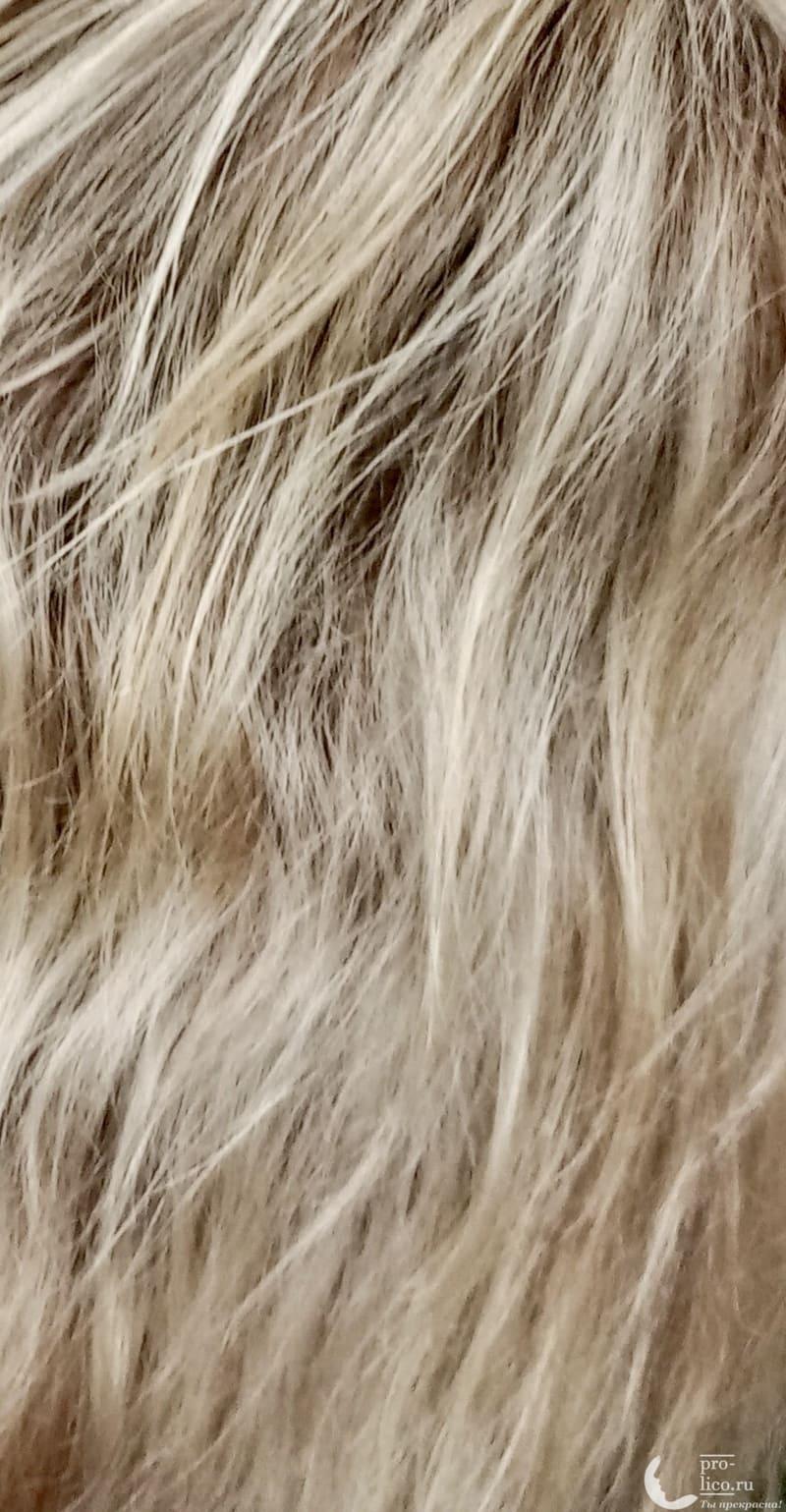 Фиолетовая маска Fito Cosmetic для окрашенных волос эффект