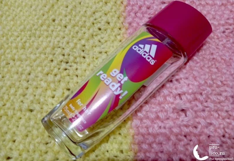 Adidas Get Ready! For Her- парфюмированная вода для женщин