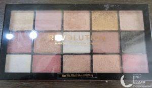 Отличная палетка теней за смешную стоимость – обзор Makeup Revolution Reloaded Affection
