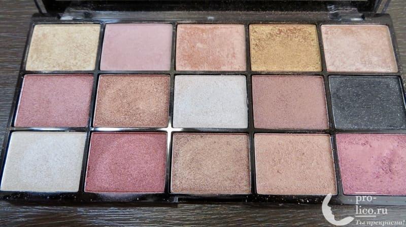 Makeup Revolution Reloaded Affection все цвета