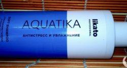 Шампунь Likato «Aquatika» антистресс и увлажнение