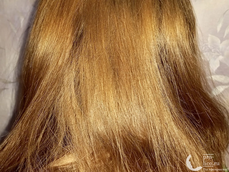 """Шампунь Parli Cosmetics серии Sendo """"Освежающий киви"""" волосы до и после"""