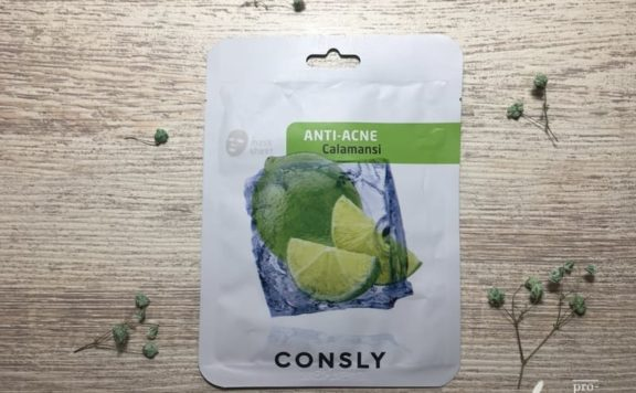 Тканевая маска для лица Consly Anti-Acne «Calamansi»