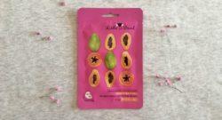 Тканевая маска Little Devil с экстрактом папайи «Омоложение и сияние кожи»