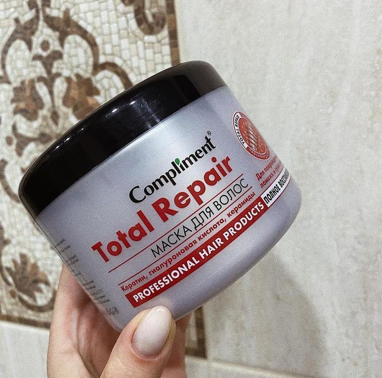 Маска для волос compliment total repair